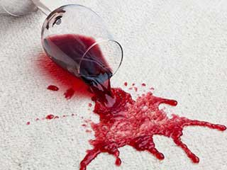 Red Wine Stain Carpet | Agoura Hills Carpet Cleaning